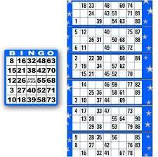 5x5 bingo card