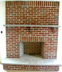 brick fireplaces pictures
