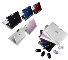 asus white notebook