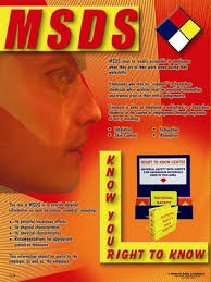 msds poster