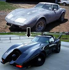 corvette toy car