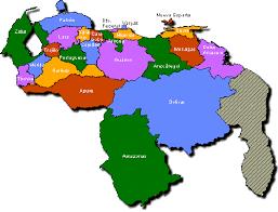 division politica de venezuela