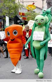 peas and carrots costume