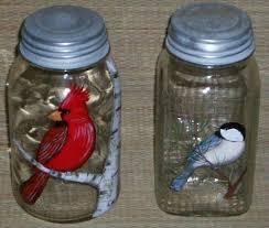 painted jars