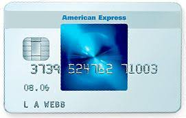 american express card blue