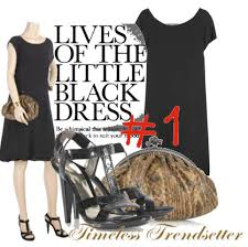 black dress accessories