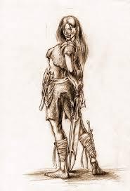 barbarian women
