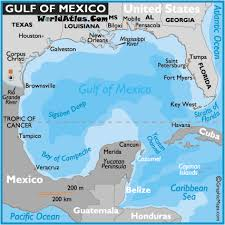 gulf of mexico maps