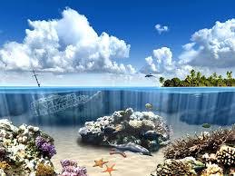 underwater screensaver