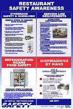 restaurant safety posters