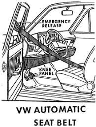 automatic seat belts