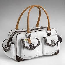 coach white handbags