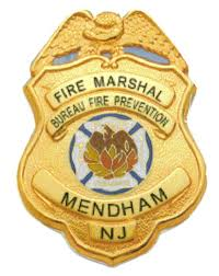 fire marshall badge