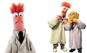 dr. bunsen honeydew and beaker