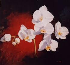 flower acrylic paintings