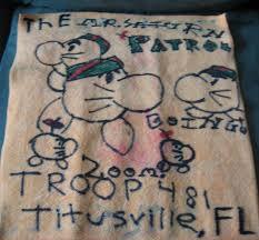 boy scout patrol flag