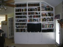 built in bookcase designs