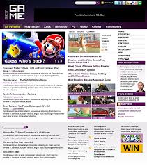 gaming web template