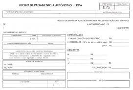 modelo de recibo de pagamento