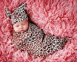 animal print baby