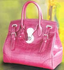 pink designer purses