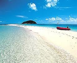 tropical island holiday