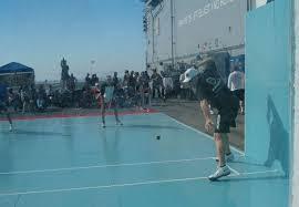 outdoor racquetball