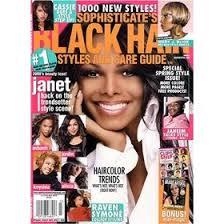 black hair style magazines