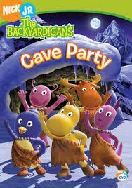 backyardigans cave party