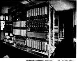automatic telephone exchange