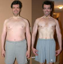low carb diet before and after