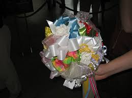 bouquet ribbon