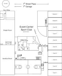 fitness center layout