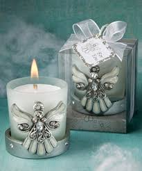chrome angel candles
