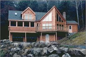 a frame log homes