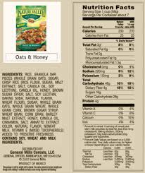 honey nut cheerios nutritional facts