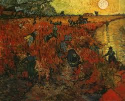 red vineyard