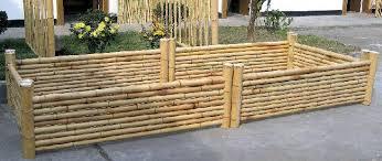 bamboo planter box