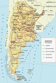 mapa de rutas argentina