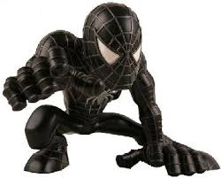 black spider man 3
