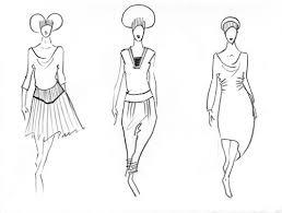 drawings of ladies