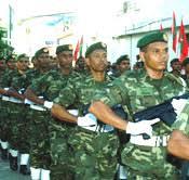 maldives army