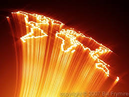 fiber optic map