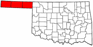 oklahoma panhandle map