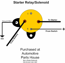 how to wire a starter