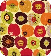 fruits fabric