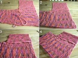 ponchos tejidos