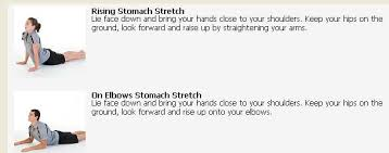 pictures of stomach exercises