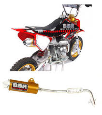 crf 50 exhaust