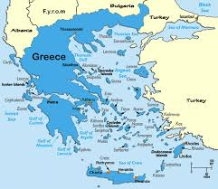 islands of greece map